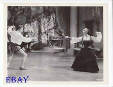 Lana Turner sword fights  Roger Moore VINTAGE Photo Diane