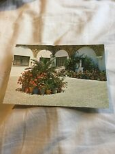 Postcard - Typical Court In Spain - ? Vintage