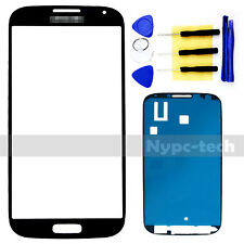 New Front Glass Screen For Blue Samsung Galaxy S4 SGH-I337M SHV-E330S + Tools US