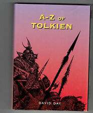 JRR TOLKIEN DAVID DAY The A-Z of Tolkein concordance guide