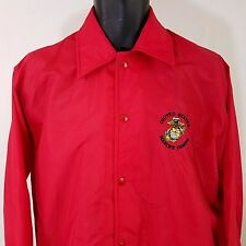United States Marine Corps Windless Flapjacket Vtg 80s USMC Windbreaker Jacket M