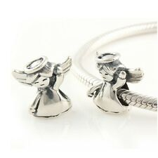 Dancing ANGEL- Child - Christmas - Solid 925 sterling silver European charm bead