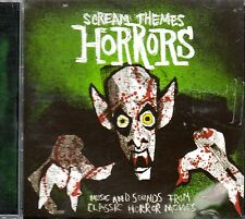 HALLOWEEN SCREAM THEMES HORRORS: MUSIC & SOUNDS FROM CLASSIC MOVIES & FILMS CD!
