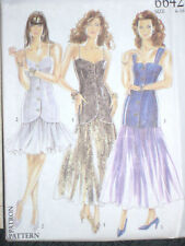 New Look 6642 Misses Top & Skirt Size 6 8 10 12 14 16 Party Prom Bridesmaid