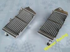 Fit YAMAHA YZ 250 2-stroke 1984-1985 BRACED ALUMINUM ALLOY RADIATOR