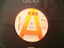 BONNIE TYLER HAVE YOU EVER SEEN THE RAIN cbs 3517 demo / promo 45 rpm