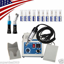 Dental MARATHON 35,000 RPM Electric Micromotor N3 + 2*Handpieces + 10*Burs X
