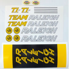 Raleigh TI Team Ilkeston SB decal set choices British vintage