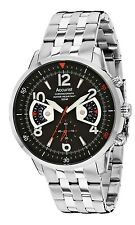 Accurist MB1020B Acctiv Chronograph Men's WR 100M Watch, 2 Yr Guarantee RRP £150