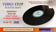 Astonishing Sota turntable UPGRADE! - VIBRO-STOP Platter Mat - Big Improvement!