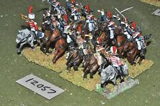 25mm napoleonic french cuirassiers 12 cavalry (12057)