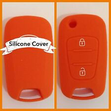 ORANGE CAR KEY COVER CASE PROTECTOR Rio Sorento Sportage Picanto Seed FOR KIA