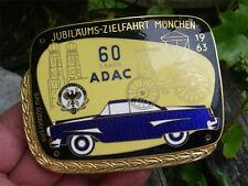 ADAC anniversaire zielfahrt Munich 1963 badge plaque Bavière méridionale BORGWARD ISABELLA