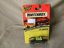 Matchbox Diecast Super Fast #14 MB204 Vehicles '87 Corvette 1995