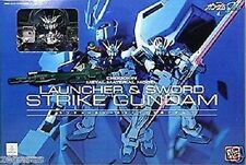 New Bandai Chogokin Metal Meterial Model Launcher Strike Sword Strike Gundam