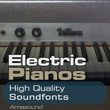 ELECTRIC PIANOS SOUNDFONT COLLECTION 64 SF2 FILES RHODES & OTHER BEST VALUE EVER