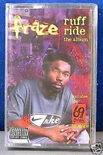 Fraze Ruff Ride The Album 12 track 1997 CASSETTE TAPE NEW!  inc. 69 Boyz Mix