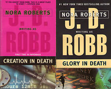 Complete Set Series - Lot of 41 In Death Books by J.D. Robb (Nora Roberts)