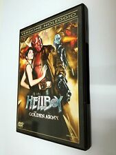 Hellboy: The Golden Army (2008) DVD di Guillermo Del Toro. Con Ron Perlman