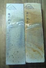 JAPANESE whetstone Binsui op. red/white water stone suit sword,chef knives,tools