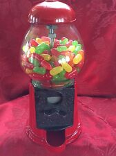 Exceptional Vintage CAROUSEL INDUSTRIES Red Metal GUMBALL JELLYBEAN CANDY BANK