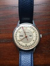 Vintage Movado Calendograph Triple Calendar Watch-Recently Serviced