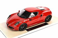 ALFA ROMEO 4C RED 1:18 TOP MARQUES M03A NEW RESIN MODEL CAR
