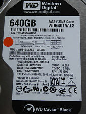 Western Digital WD6401AALS-00L3B2 DCM: HANNHT2MBB / 05JUN2009 - 640 GB Hard Disk