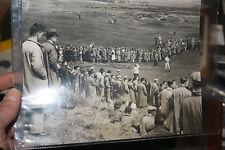 GOLF 1934  OPEN  OLD PRESTWICK  ORIGINAL PHOTO  ANTIQUE