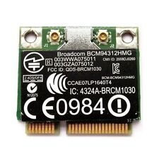 + Broadcom BCM94312HMG  Windows®10 WLAN HP COMPAQ SPS:582562-002 Mini PCIe +