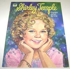VINTAGE SHIRLEY TEMPLE PAPER DOLL BOOK NEW UNCUT WHITMAN 1976