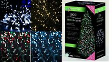 Premier 500 LED Multi Coloured Treebrights Christmas Tree Xmas Light IN/ Outdoor