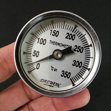 Pit Smoker Grill Thermometer Temp Gauge BBQ Camping 3PCS