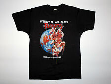 Vintage Original Plasmatics Tour Shirt Wendy O Williams metal punk 1987 L Rare