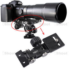 Telephoto Lens Holder Long-Focus Support fr Camera Ball Head Quick Release Plate