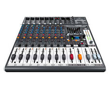 Behringer XENYX X1222 USB Mixer with Mic Preamps and Compressors --