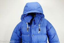 1970s Vintage REI Expedition Down Puffer Parka Jacket -Blue -Men's Small EUC!