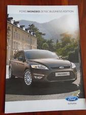 Ford Mondeo Zetec Business Edition brochure Apr 2012
