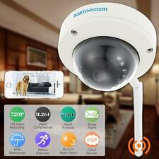 Wireless WIFI HD LED 720P IP Camera Outdoor Security Waterproof Night View H6P6