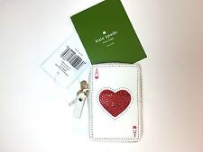 NWT Kate Spade Playing Cards Ace Of Hearts Place Your Bets Las Vegas Coin Purse