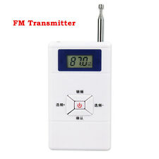 FM Transmitter Personal Radio Station Stereo Audio Converter 70MHz-108MHz Top