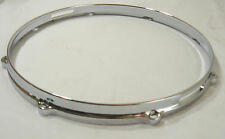 "14"" 8 hole Snare Side Die Cast Drum Hoop for Drum Set Build or Restoration"