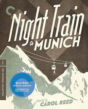 Night Train to Munich (Blu-ray Disc, 2016, Criterion Collection) SEALED
