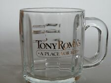 "TONY ROMA'S ""A Place for Ribs"" Glass Mug"