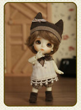 BJD 1/12 doll White T.haru BB free eyes + face make up
