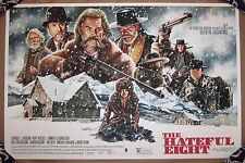 The Hateful Eight 8 Mondo Ltd Print Poster Jason Edmiston Quentin Tarantino