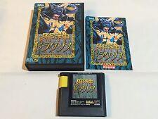 Jyashin Draxos Risky Woods -Sega Megadrive -Complete -Japan (jap jpn jp j-ntsc)