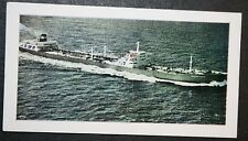 Princess Sophie     Early Oil Super Tanker      Illustrated Colour Card