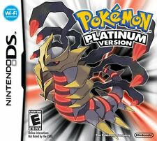 Pokemon Platinum DS Game DSi 3DS 3DSXL 2DS PAL FORMAT + FREE Accessory