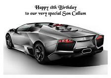 Lamborghini Car A5 Birthday Card Personalised Husband Friend Son Dad Boyfriend